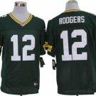 Men's/Youth Green Bay Packers #12 Aaron Rodgers Green Elite Jerseys