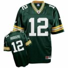 Men's/Youth Green Bay Packers #12 Aaron Rodgers Green Jerseys