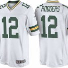 Men's/Youth Green Bay Packers #12 Aaron Rodgers White Jersey