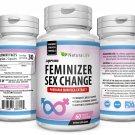 Female Hormone Trans Sex Change Pills 3 X BOTTLES PUERARIA MIRIFICA FEMINIZER Breast Growth