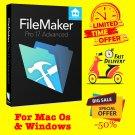 FileMaker Pro 17 Advanced ( MacOs & Windows )