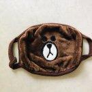 Kpop Bangtan Boys Fuzzy Bear Mask