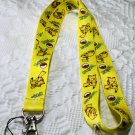 Pikachu Lanyard Keychain Necklace Pokemon