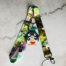 Ghibli Lanyard with Keychain Anime