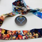 Kingdom Hearts Lanyard with Logo Pop Socket