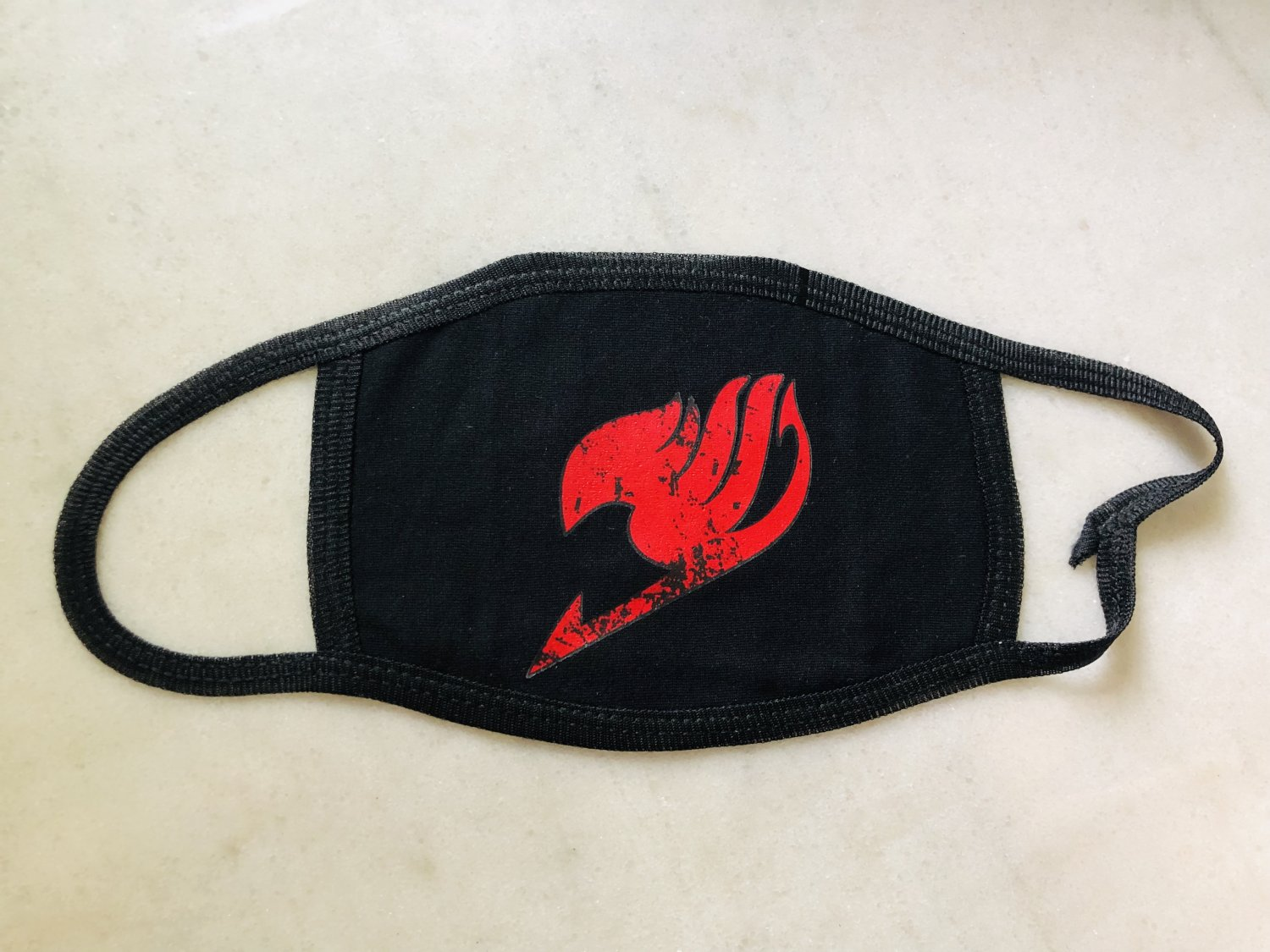 Fairy Tail Logo Anime Face Mouth Mask