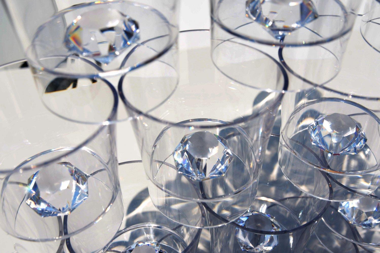 Rock glass, bar, Tritan, Whiskey, groomsman gift, wedding, Set of 6, 7.4oz