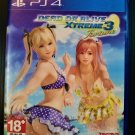 Dead or Alive Xtreme 3 Fortune PS4 DOA Chinese/English Version Free Shipping! PLAS05151
