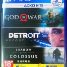 God of War PS4 English/Chinese version Videogame Playstation 4 ASIA00326