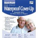 Sani-Pant Pull-On Cover-Up Washable Brief, X-Large