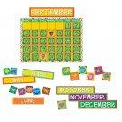 Eureka Classroom Bulletin Board Set, A Sharp Bunch Calendar Bulletin