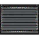 "Teacher Created Resources Chalkboard Brights Mini Pocket Chart (17"" x 22"")"