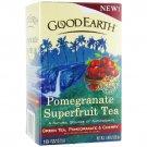 Good Earth Pomegranate Burst Green Tea, 18 Tea bags