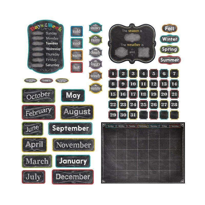 Chalk It Up Calendar Set