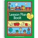 Lesson Plan Book Green Border