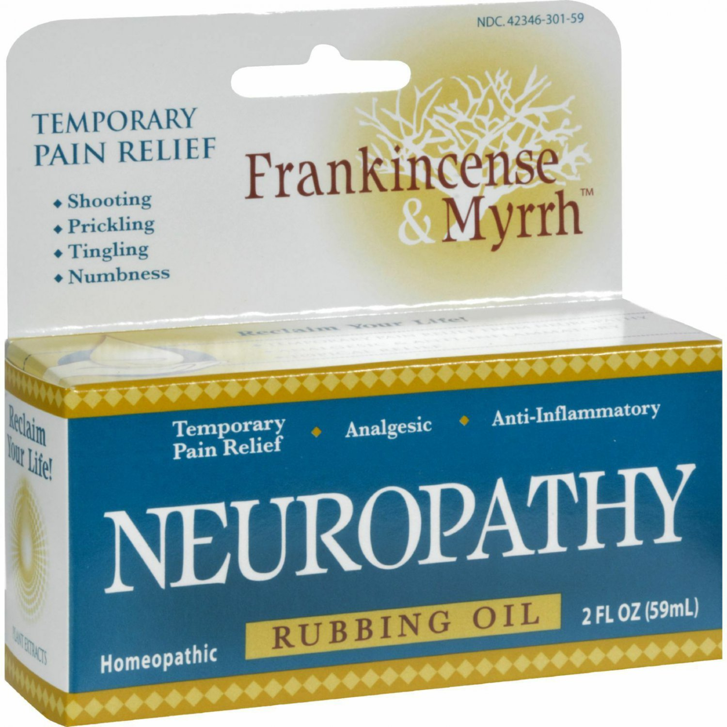 FRANKINCENSE & MYRRH NEUROPATHY 2 OZ