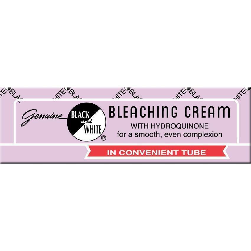 Black & White Bleaching Cream Tube 0.75 oz