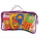 Baby Music Band Kit Kids Pretend Toy Musical Instruments For Safe Fun & Play