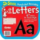 Dr Seuss Punch Out Deco Letters Blk