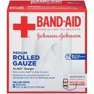 Band-Aid First Aid Covers Kling Medium Rolled Gauze, 5 Count