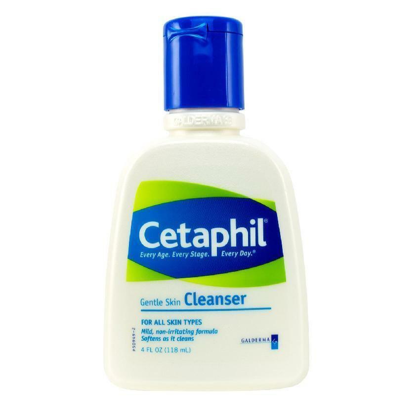 Cetaphil Gentle Skin Cleanser, for All Skin Types - 4 oz