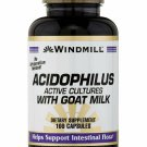 Acidophilus Caplets with Goat Milk by Windmill - 100 Ea