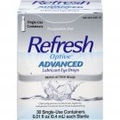 Refresh Optive Advanced Preservative Free Lubricant Eye Drops 30ct.