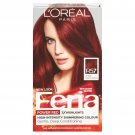 Feria Power Reds Hair Color, R57 Intense Medium Auburn (Packaging May Vary)