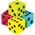 Teacher Created Resources (20810) Colorful Jumbo Dice 4-Pack