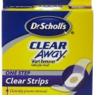 Dr. Scholl's One Step Wart Remover Invisible Strip-14 strips