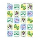 Winter Season Stickers 120 Stks