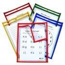 C-Line Super Heavyweight Plus  9''x12'', Box of 25 Dry Erase Pockets (42620)
