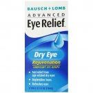 Bausch & Lomb Advanced Eye Relief, Dry Eye Rejuvenation, Eye Drops, 0.5 oz