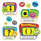 Trend Enterprises T-8289 Bulletin Board Set, Emoji Punctuation, 28 Pieces