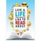 Creative Teaching Press Wall Poster Life A Life… Emoji Fun Inspire  (8094)
