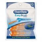 Dentek Easy Brush Cleaners, Mint, 10 Each