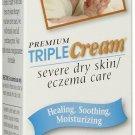 Premium Triple Cream Severe Dry Skin / Eczema Care 3.5 oz