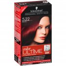 Schwarzkopf Ultime Hair Color Cream, 5.22 Ruby Red, 2.03 Ounce