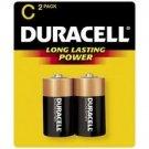 Duracell Coppertop Alkaline C, 2 Count