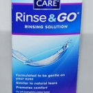 Clear Care Rinse & Go Rinsing Solution, 12 Ounce