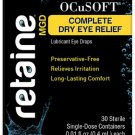 OCuSOFT Retaine MGD Ophthalmic Emulsion Sterile Single-Dose Containers 30 ea