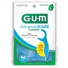 GUM Flossers Advanced Care Fresh Mint - 90 CT