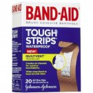 Band-Aid Tough-Strips Adhesive Bandages, Waterproof-20ct