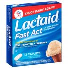 Lactaid Fast Act Lactase Enzyme Supplement, 12 Count