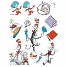 Cat In The Hat Characters 12 X 17