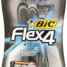 BIC Flex4 Disposable Shaver, Men - 3 Ea