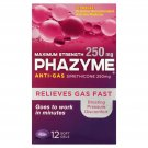 Phazyme Maximum Strength Softgels, 12 Count