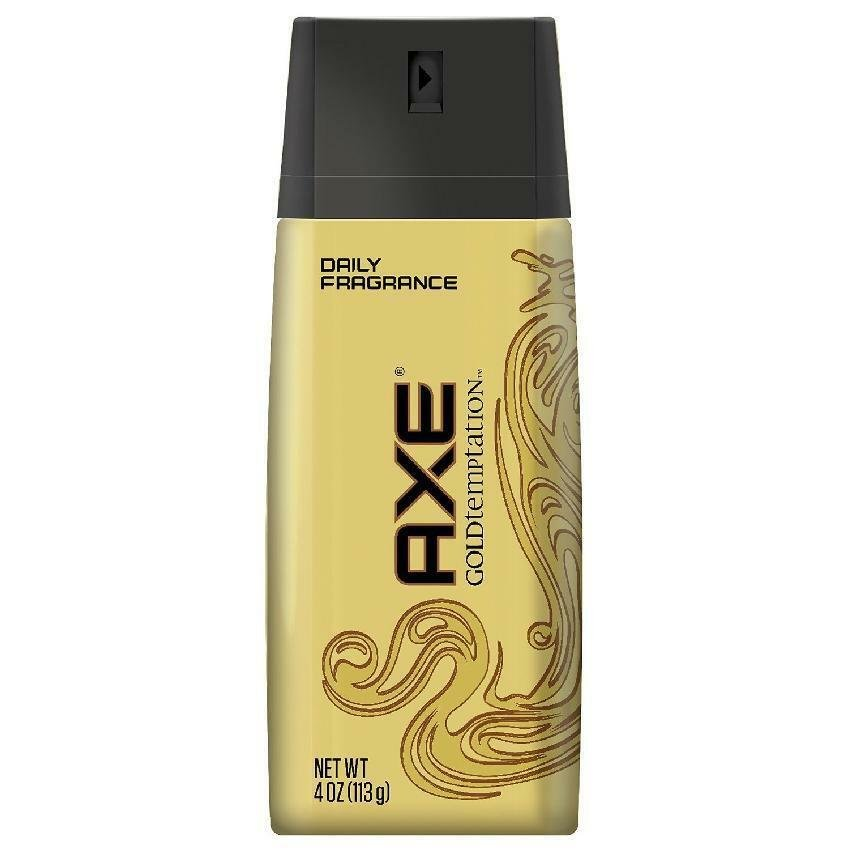 AXE Body Spray for Men, Gold Temptation 4 oz