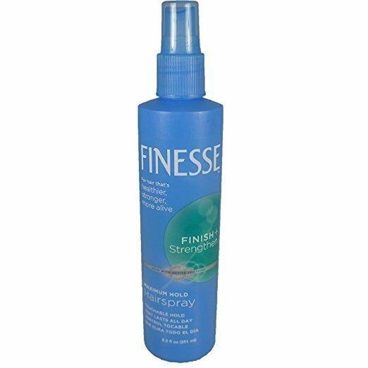Finesse Finish + Strengthen, Maximum Hold Hairspray 8.50 oz