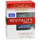 L'Oreal Paris RevitaLift Anti-Wrinkle + Firming Night Cream, 1.7 Ounces